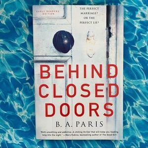 Behind Closed Doors by B.A. Paris ARC